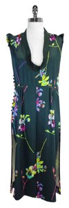 Marc Jacobs short dress Floral Print Silk Midi Midi on Tradesy
