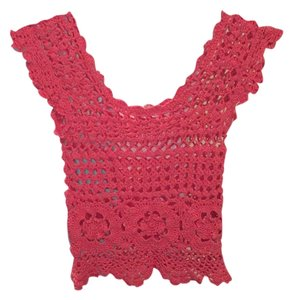 Pins and Needles Top Coral/Pink