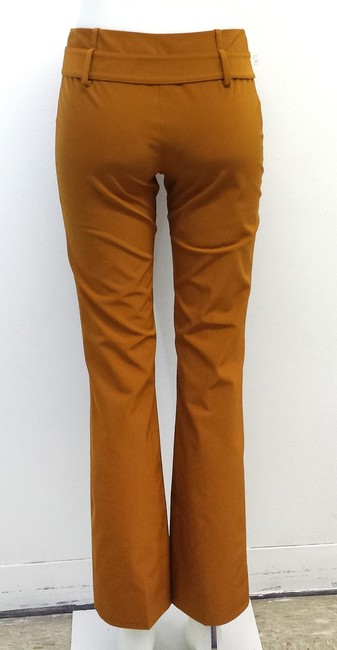 Prada Brick Orange Trouser Pants