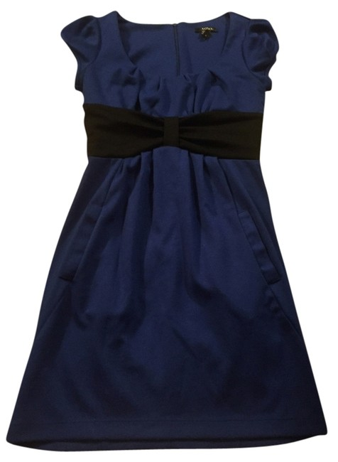 Preload https://item1.tradesy.com/images/xoxo-royal-blue-and-black-cute-above-knee-cocktail-dress-size-4-s-5343715-0-0.jpg?width=400&height=650