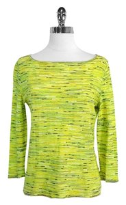 Escada Lime Green Knit Top