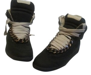 Maison Martin Margiela BLACK SUEDE Athletic