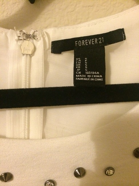 Forever 21 Top White Image 1