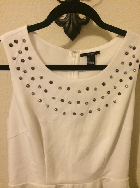Forever 21 Top White Image 3