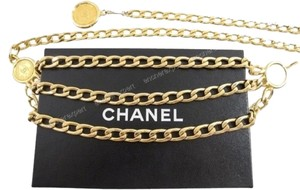 Chanel Chanel Gold Chain Belt Small