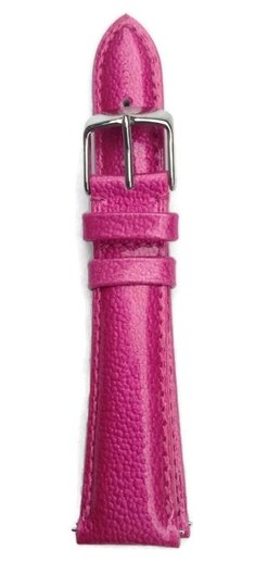 Michele 20mm Pink Patent Leather Watch Band Strap MS20AB350653