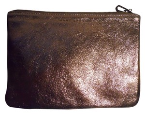 Marc Jacobs Leather bronze Clutch