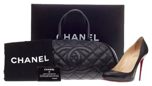 Chanel Leather Black Satchel