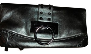 Sorial SILVER GREEN Clutch