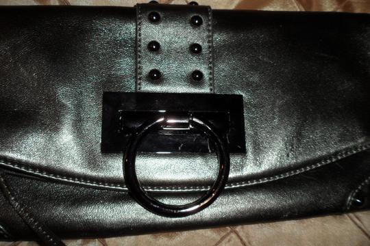 Sorial SILVER GREEN Clutch Image 1