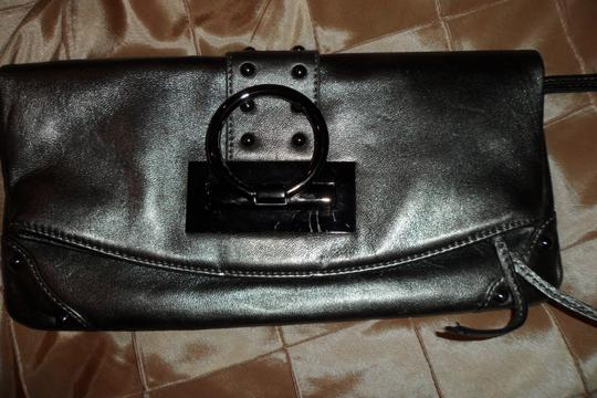 Sorial SILVER GREEN Clutch Image 3