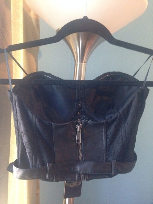 Guess By Marciano Black Halter Top