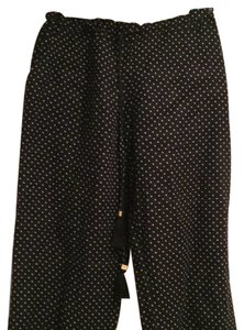 Tory Burch Wide Leg Pants Black and White