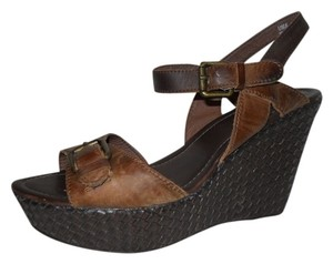 Aldo Leather brown Platforms