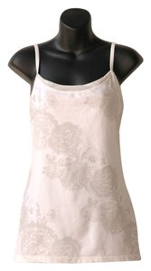 Lululemon Power Y white floral print camisole tank top
