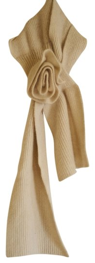 Urban Outfitters Flower Ivory Scarf