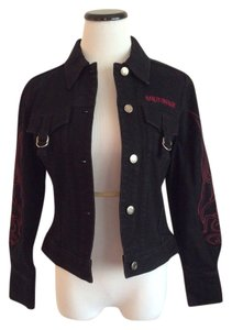 Harley Davidson Denim Motorcycle Jacket