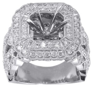 BRAND NEW, Ladies 18K Diamond Ring With Mounting