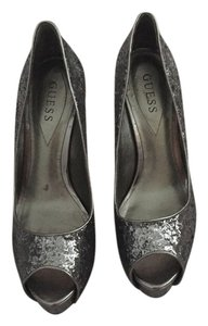 Guess Heels Heels Silver Pumps