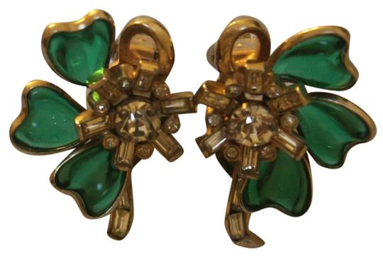 McClelland Barclay Signed Barclay Vintage Clip On Earrings