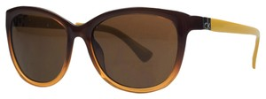Calvin Klein Calvin Klein Brown Gradient Cateye Sunglasses