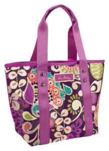 Vera Bradley Mesh Beach Travel Tote in Plum Crazy