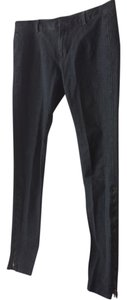 Vince Denim Cotton Skinny Jeggings-Dark Rinse