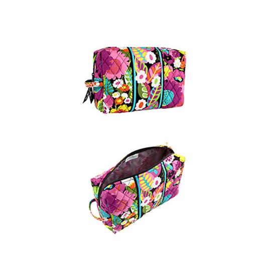 Vera Bradley Grand Grand Cosmetic Case Cosmetic Cosmetic Case Set Set Set Travel Travel Set Make Up Make-up New Nwt New Tote in Va Va Bloom
