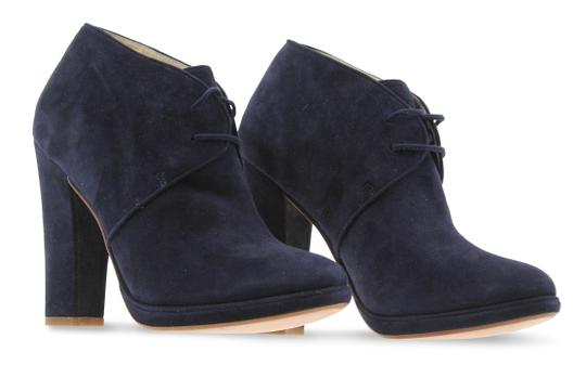 Cole Haan Navy Boots Image 1