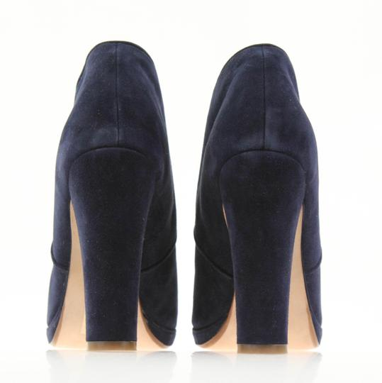 Cole Haan Navy Boots Image 2