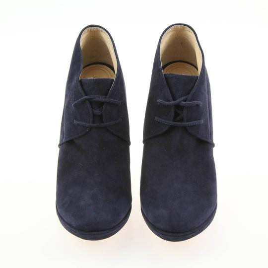 Cole Haan Navy Boots Image 4