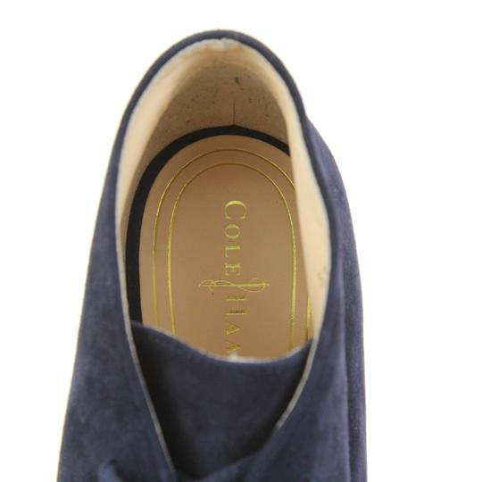 Cole Haan Navy Boots Image 6