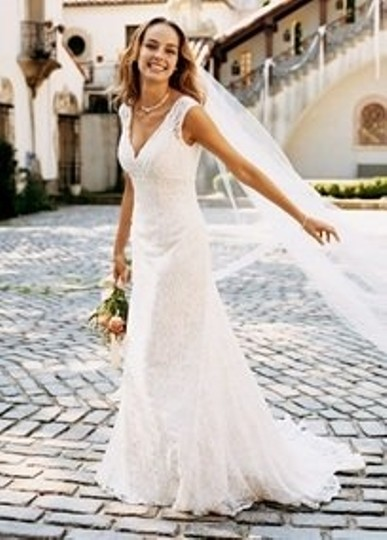Preload https://item4.tradesy.com/images/david-s-bridal-ivory-lace-allover-beaded-trumpet-gown-style-style-t9612-vintage-wedding-dress-size-8-53493-0-0.jpg?width=440&height=440