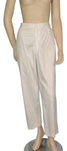 Ellen Tracy Cotton Cropped Capri/Cropped Pants White