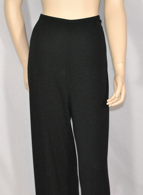 Dana Buchman Knit Jersy Relaxed Pants Black