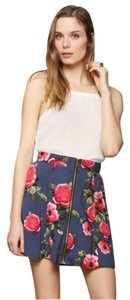 Urban Outfitters Mini Skirt Floral Multi
