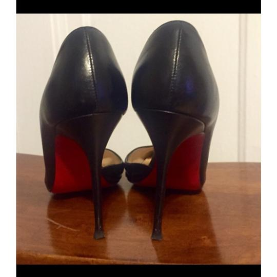 SOLD!!!!!!!! Christian Louboutin Blac Pumps