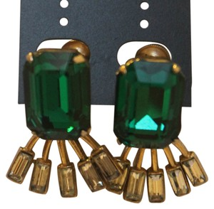 Rios Signed Rio Vintage Clip On Earrings