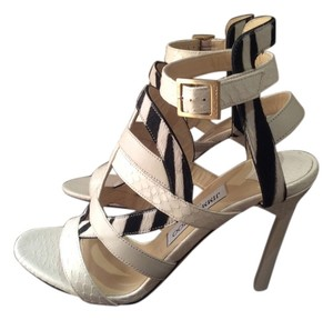 Jimmy Choo White/black Sandals