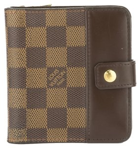 Louis Vuitton Louis vuitton Damier Ebene Bifold Wallet (Authentic Pre Owned)