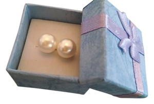 Other White Pearl Stud Earrings Free Shipping