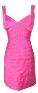 BCBGMAXAZRIA #coctaildress #fuschia #begonia #bcbgmaxazria Dress