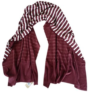 Michael Stars $58 Michael Stars Striped Wrap / Wide Scarf