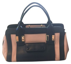 Chloe Alice Satchel Bag, Tamaris Pink Satchel in Black/pink