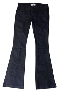 Habitual Trouser/Wide Leg Jeans-Dark Rinse