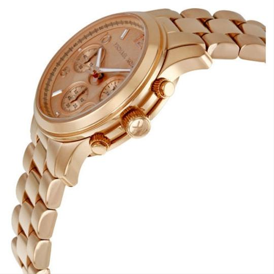 Michael Kors Classic Casual Rose Gold Ladies Designer watch