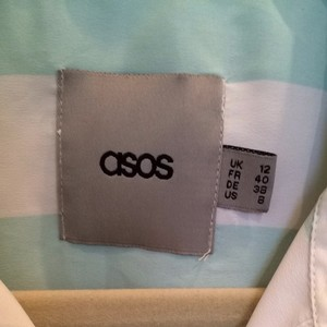 ASOS Top Mint White