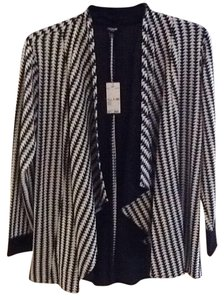 PREMISE WOMEN Black/white Blazer