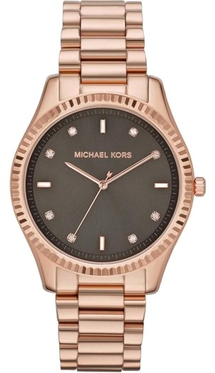 Preload https://item4.tradesy.com/images/michael-kors-chocolate-brown-dial-with-crystals-rose-gold-stainless-steel-watch-5356753-0-0.jpg?width=440&height=440