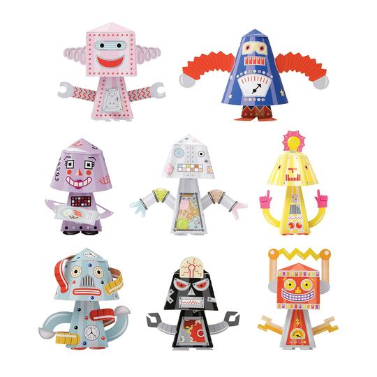 Other BYO Paper Bobble Heads Robots